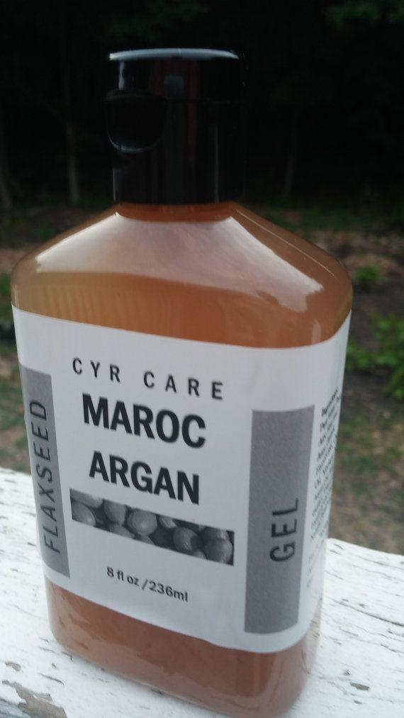 Argan semi di lino capelli gel-ricci capelli gel-bio di CYRCARE
