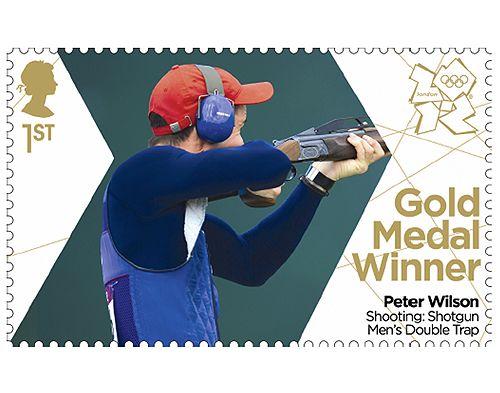 Peter Wilson. Olympic Gold Medal Winner. 2012.