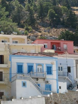 Pothia, on the islandof Kalymnos in Greece