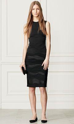 Sydney Tiered Silk Dress - Collection Apparel Short - RalphLauren.com