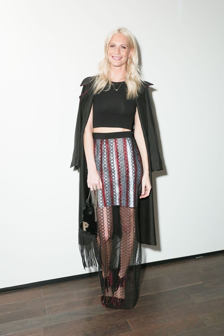 Letters to Andy Warhol opening event, New York – November 14 2016 Poppy Delevingne in Burberry.