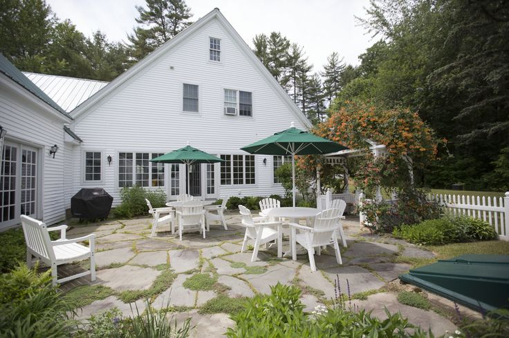 The Backyard Patio At The Rustic Barn At Hardy Farm The