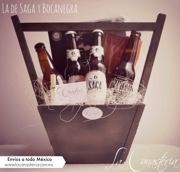 La de Saga y Bocanegraes una delicia de canasta inspirada para papás amantes de serrano y de Chelas orgullosamente mexicanas!! Incluye dos cervezas Saga y dos Bocanegra. $695 Pesos (Precio incluye…