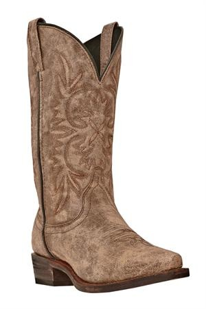 Dingo Women's Tan Crackle Cowgirl Boots