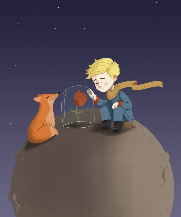 Little Prince / EL principito children illustration / Ilustración infantil