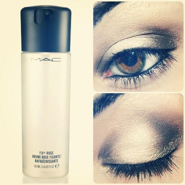 Wet eyeshadow technique