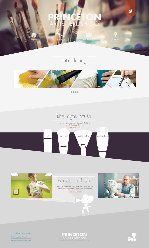 Princeton Artist Brushes Co. on Behance