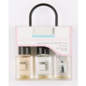 The Edge Natural French Manicure Set