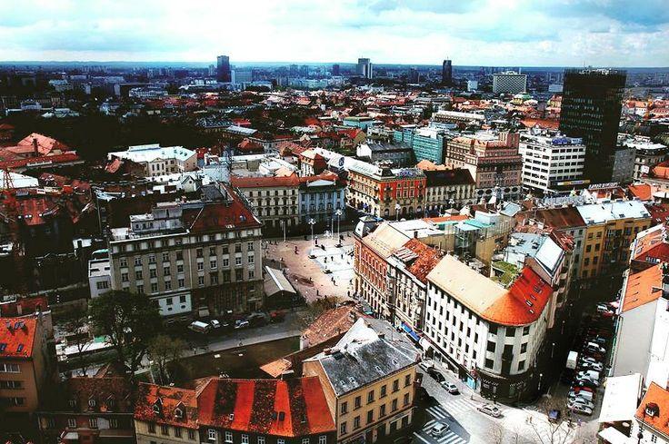 Downtown Zagreb  #zagrebcity #zagreb #croatia #hoteldubrovnik #hotel #dubrovnik #instatravel #trg #travelandleisure #croatian_beauties #lovezagreb #lovecroatia by hotel_dubrovnik_zagreb   dubrovnik-croatia.com