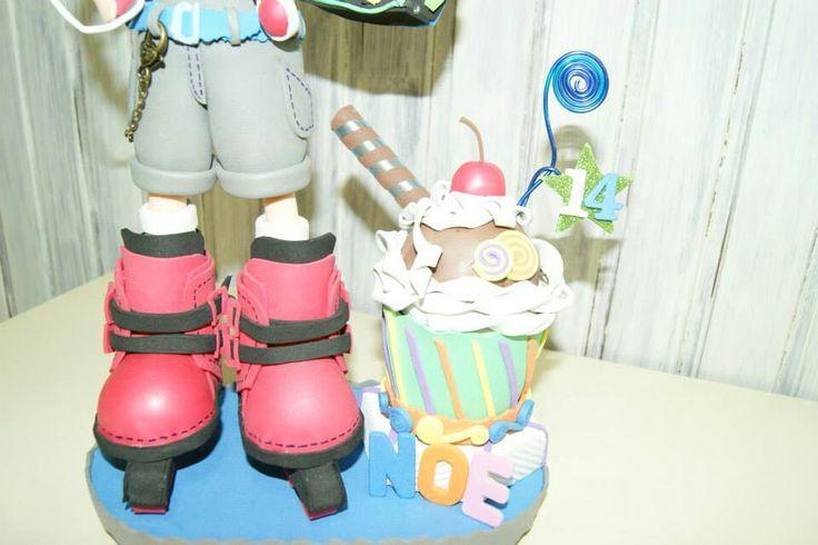 Cupcake portafotos