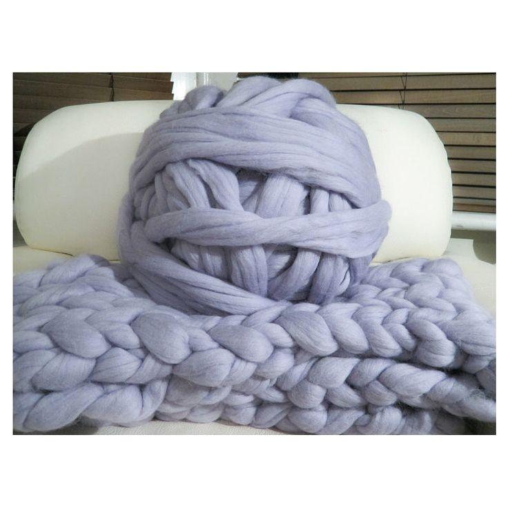 1KG! 100% non-mulesed Chunky Merino wool yarn Big chunky yarn massive yarn Extreme arm knitting Giant Chunky knit blankets throws grey by mycosyLondon on Etsy https://www.etsy.com/listing/281203870/1kg-100-non-mulesed-chunky-merino-wool