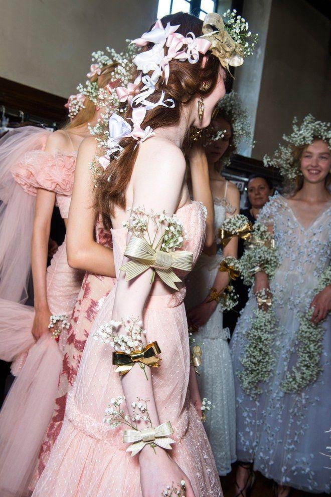 Rodarte Brings Radical Romance to the Flower Crown in Paris