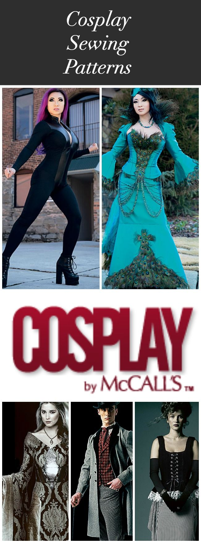 Cosplay By McCall's. The source for cosplay sewing patterns. Featuring new patterns from Yaya Han.