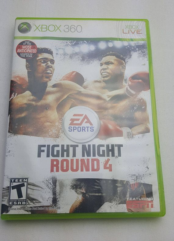 Fight Night Round 4 2009 Microsoft Xbox 360 Video Game by EA