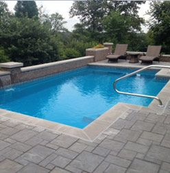 Fiberglass Pool Fiberglass Pool Pinterest Fiberglass Pools Swimming Pools And Small Pools
