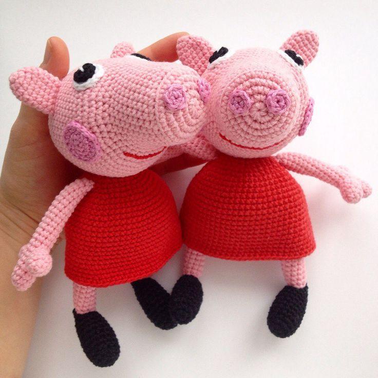 Amigurumi Peppa Pig Crochet English Pattern