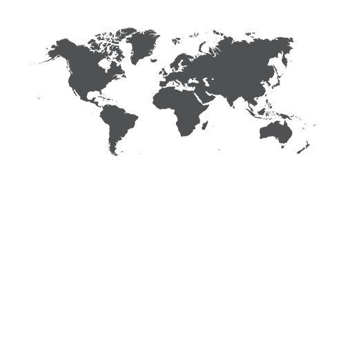 Väggdekor världskarta | Köp wallstickers världskarta här