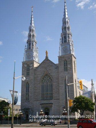 The Roman Catholic Basilica, Notre Dame in Canada's Capital City, Ottawa