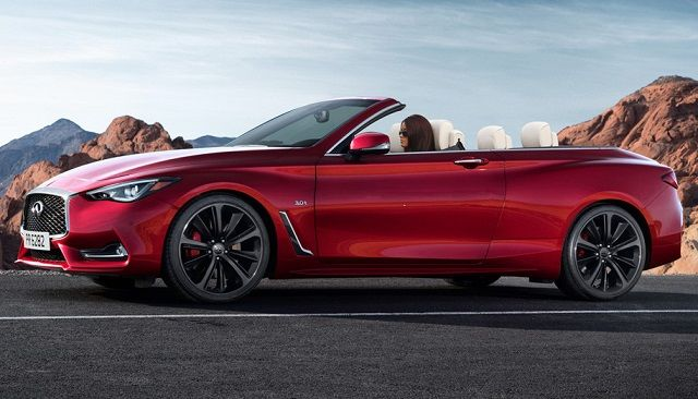2017 infiniti q60 convertible front 2017 nissan pinterest convertible. Black Bedroom Furniture Sets. Home Design Ideas