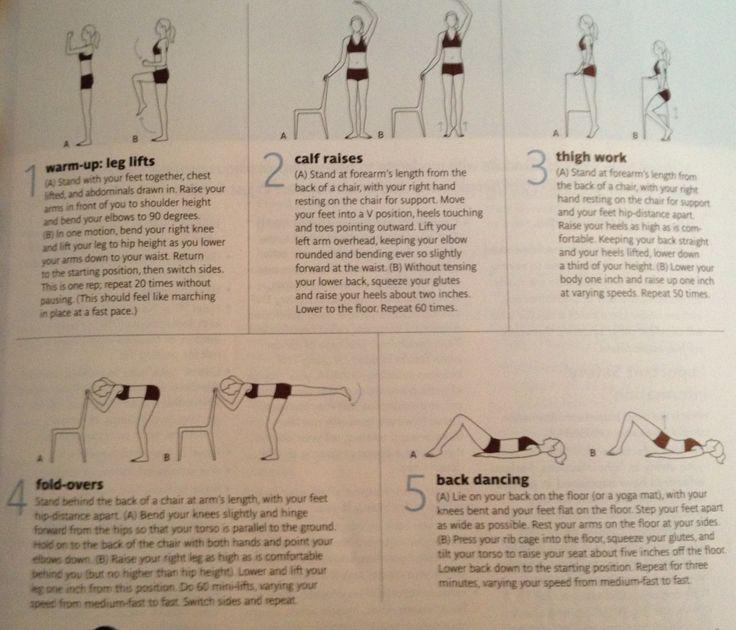 Ballet-barre workout
