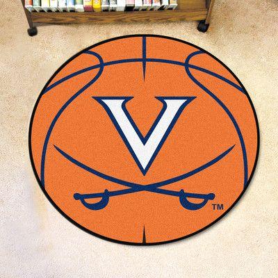 FANMATS NCAA University of Virginia Basketball Mat