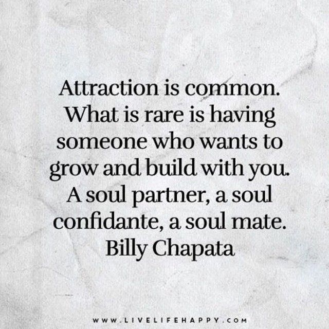 Soul Partner// Soul Confidante// Soul Mate  Billy Chapata Quote