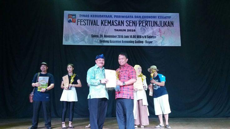 Untuk Kali kesembilan, Disbudparekraf Kota Bogor Gelar Festival Kemasan Seni Pertunjukan