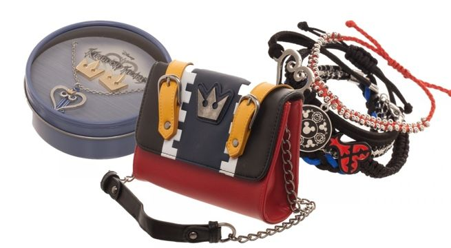 Various Kingdom Hearts-styled accessories have been recently made available to pre-order for limited availability on the geek merchandise shopping site, Merchoid. These items include a sidekick bag, a zip purse, a necklace and earring gift bo...