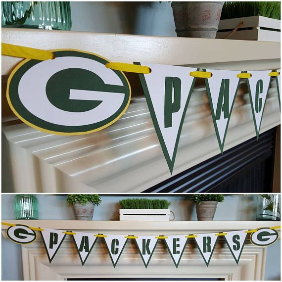 Green Bay Packers sports banner  Check out this item in my Etsy shop https://www.etsy.com/listing/526528912/green-bay-packers-banner-sports-banner