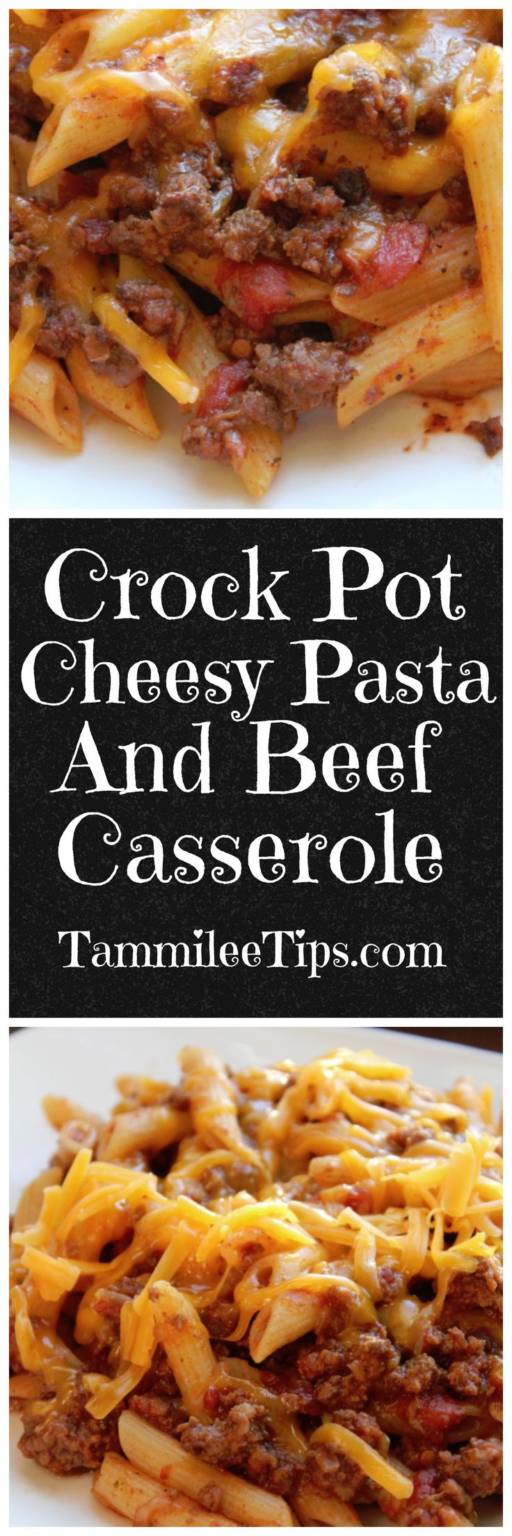 Easy Crock Pot Cheesy Hamburger Casserole Recipe is the perfect family meal! I love that I can make this recipe ahead of time and it is ready when we come home for dinner. So easy to make with ground beef and pasta. The family will love this spin on traditional mac and cheese made with the slow cooker.