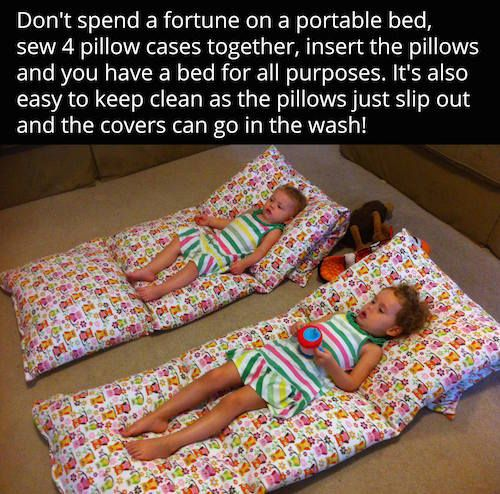 Diy Portable Beds For The Kids