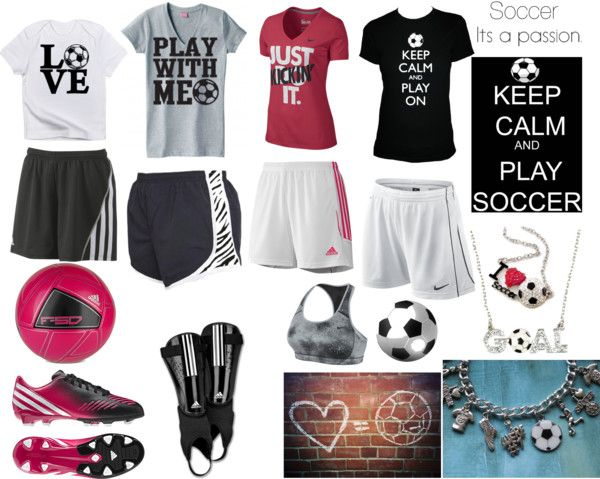"""""""Soccer Outfits"""" by hawkeyefan1847 on Polyvore"""