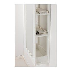 """BRIMNES Mirror with storage -  $79.99.  Must be secured to the wall. Width: 18 7/8 """" Depth: 8 5/8 """" Height: 54 3/8 """""""
