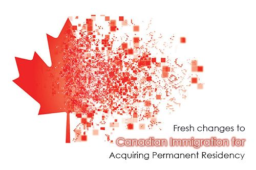 Fresh changes to Canadian Immigration for Acquiring PR