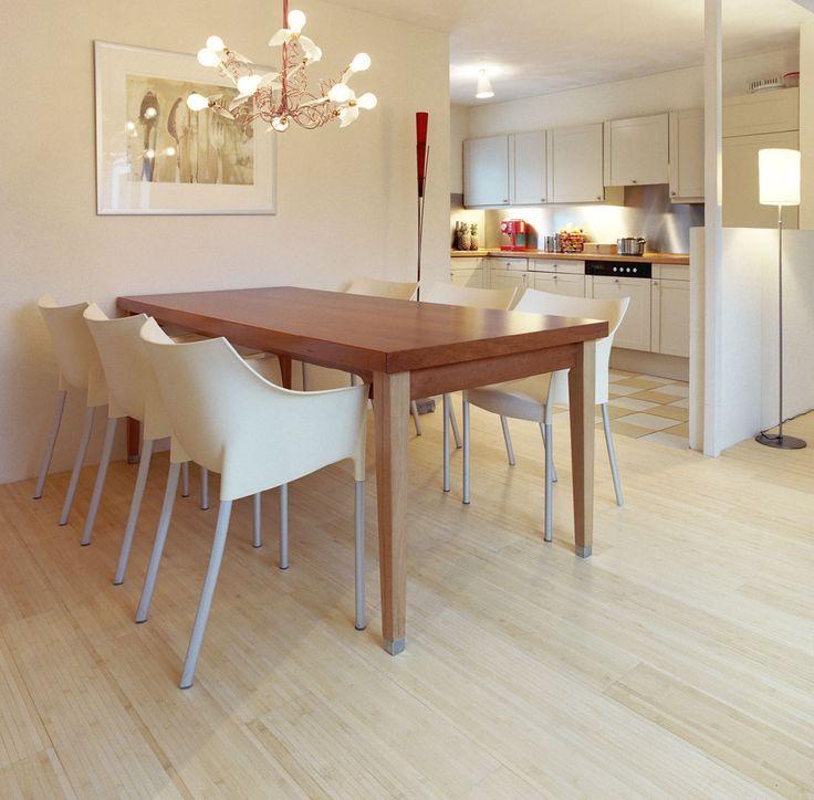 Parquet Bamboo Natural con supporto in lattice. #pavimenti in  #parquet #bamboo #flooring #woody #design