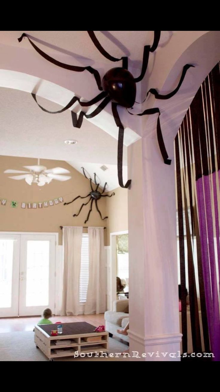 Balloon Spiders.