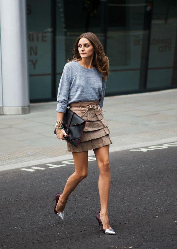 super-cool, creative look! 28 Olivia Palermo Fashion Style
