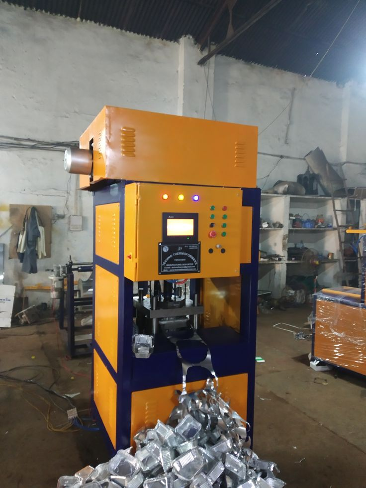 Aluminium Foil Container Making Machine In 2020 Making Machine