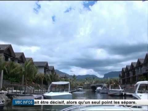 MBC news Coverage on the Tourism Industry in Mauritius, featuring Concorde Director, Mr. Bruno Lebreux