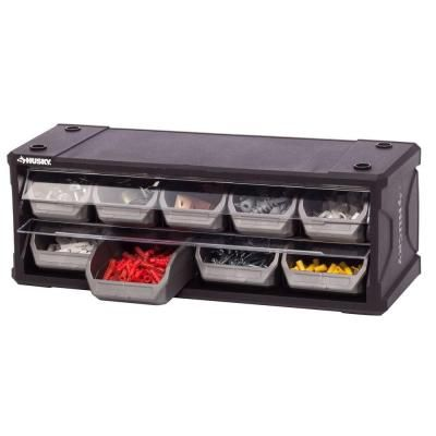 Husky 9-Drawer Small Parts Organizer-222170 - The Home Depot