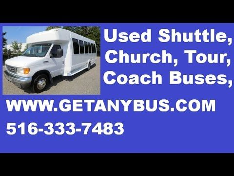 Used Bus For Sale 2007 Ford E450 Turtle Top Wheelchair Shuttle Bus | For more information call CHARLIE at 516-333-7483 OR visit us at http://www.getanybus.com