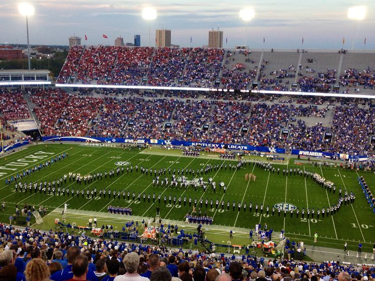Alabama vs Kentucky game 2013. Commonwealth Stadium, Lexington, Ky.