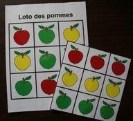 La pomme : accessoires pour activités préscolaires - Les éditions Boîte à Surprises