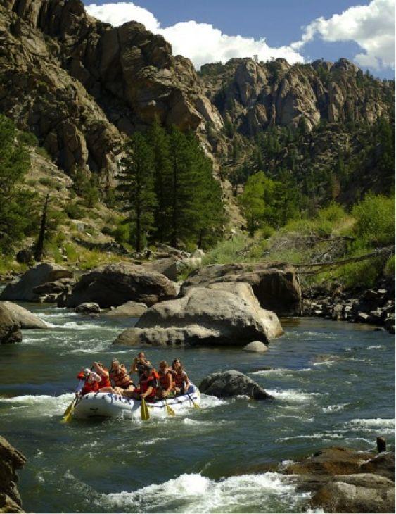 iResort App - White Water River Rafting near Breckenridge and Summit County Colorado