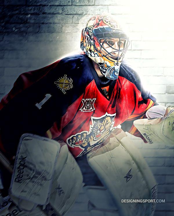 Roberto Luongo, Florida Panthers — NHL 'Puckstoppers' Series