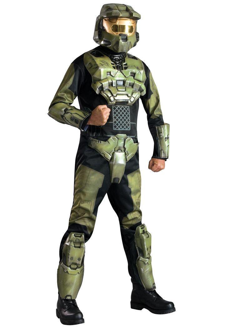 deluxe halo master chief costume - Halo Reach Halloween Costume