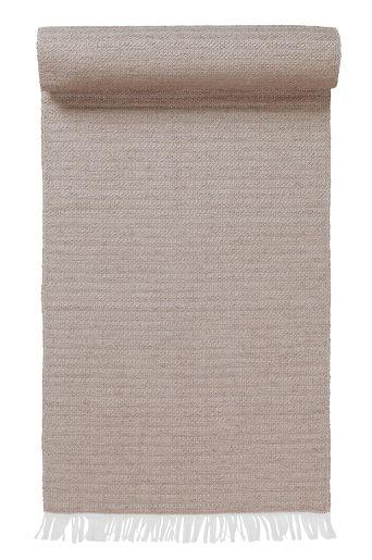 Svart 300kr PLAIN plastmatta 70x150 cm i färgerna Natur, Lila, Blå, Vit, Grå, Svart inom Mattor - Jotex