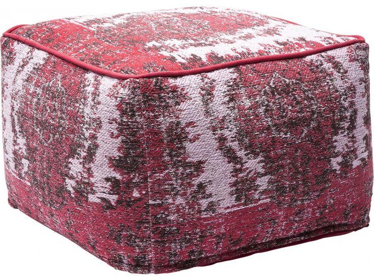 Pufa Kelim Pop różowa — Otomany Pufy — KARE® Design