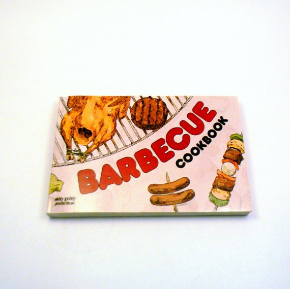 Retro Barbecue Cookbook Vintage 1970 Nitty by BlissandVinegar, $12.00
