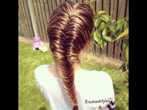 How to French Fishtail Braid Step by Step Hair Tutorial perfect for long hair, short hair or medium hair